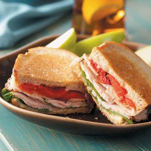 Provolone 'n' Turkey Sandwiches