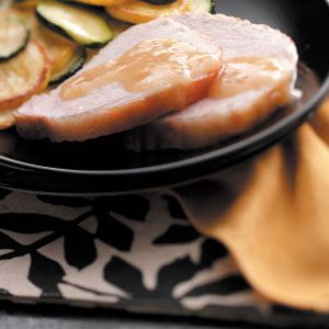 Canadian Pork Roast with Gravy