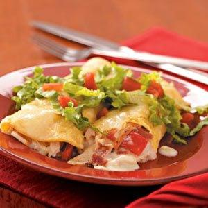 Club-Style Turkey Enchiladas