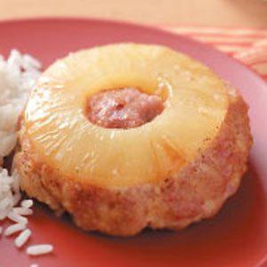 Pineapple Ham Loaves