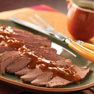 Slow-Cooked Tender Beef Brisket