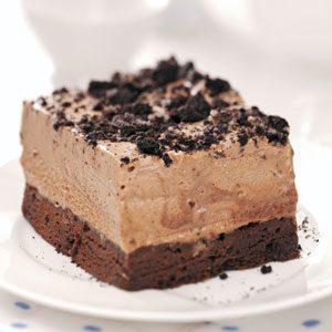 Frozen Chocolate Mint Dessert