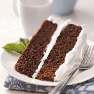 Chocolate Sour Cream Torte