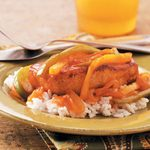 One-Skillet Creole Pork Chops