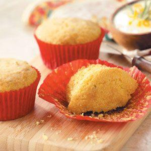 Rosemary-Orange Corn Muffins