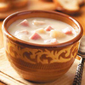 Cordon Bleu Potato Soup