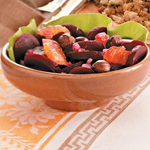 Roasted Beet and Clementine Salad