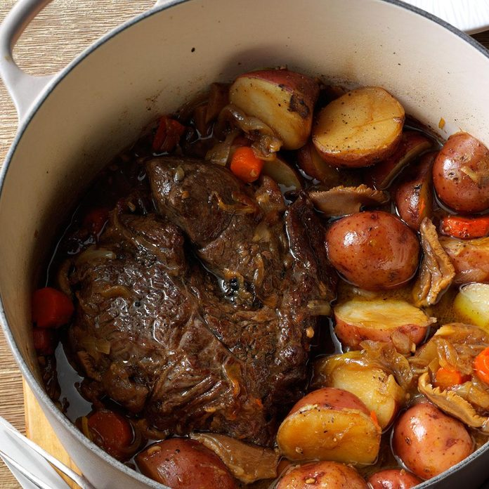 Stout & Shiitake Pot Roast