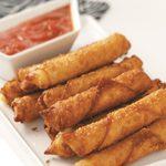 Wonton Mozzarella Sticks