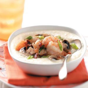 Makeover Shrimp and Grits