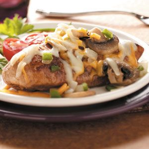 Fiesta Smothered Chicken