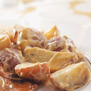 Cheddar Dill Potatoes