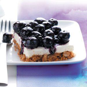 Blueberry Walnut Bars