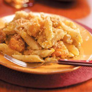 Pesto Chicken Mostaccioli