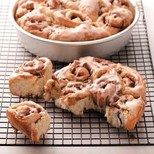 Orange Cinnamon Rolls
