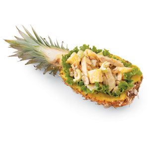 Pineapple and Chicken Salad