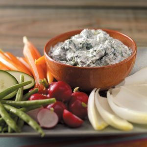 Cool and Creamy Spinach Dip