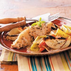 Roasted Turkey Breast Tenderloins & Vegetables