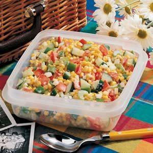 Quick Corn Salad for 2
