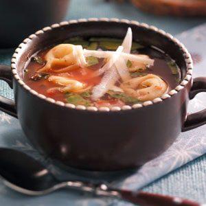 Christmas Tortellini Soup