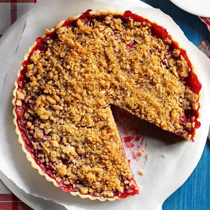 Cherry-Almond Streusel Tart