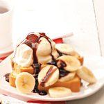 Quick Banana Split Shortcake