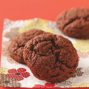 Gooey Chocolate Cookies