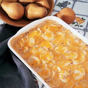 Scalloped Cheese Potatoes