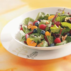 Fruited Mixed Greens Salad