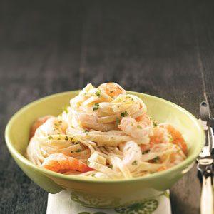 Shrimp Fettuccine Alfredo