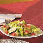 Tossed Eggplant Salad