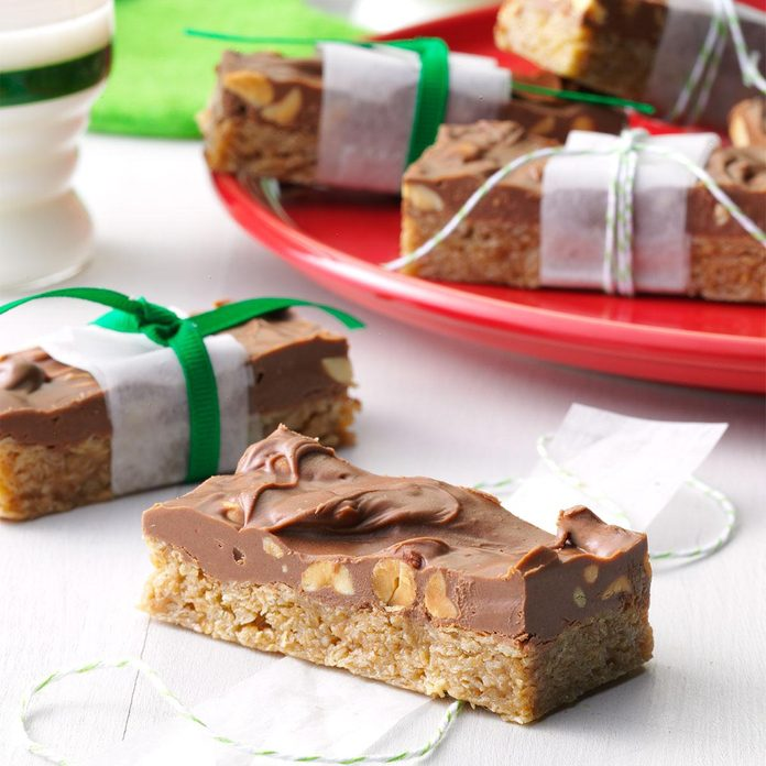 Peanutty Candy Bars