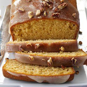 Glazed Spiced Rum Pound Cakes