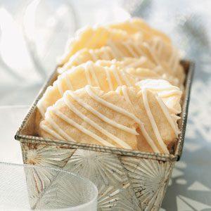 Crisp Lemon Cookies