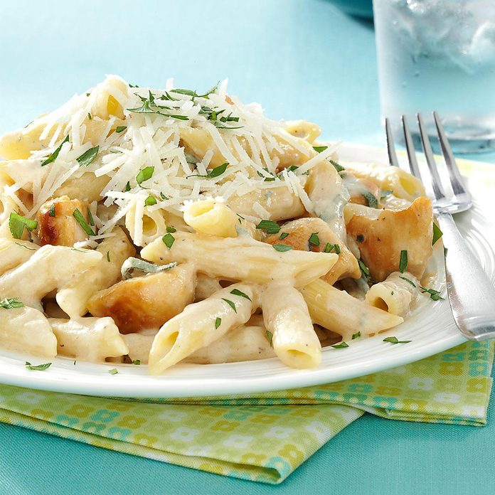 Penne Gorgonzola with Chicken