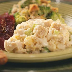 Turkey and Dressing Casserole