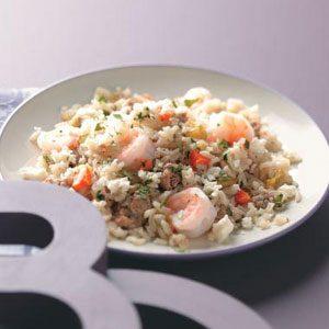 Spicy Chorizo & Shrimp Rice