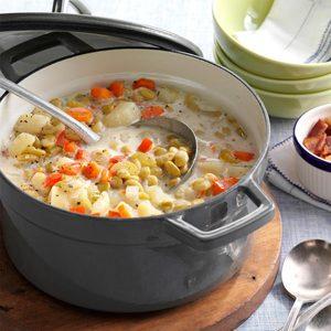 Lima Bean Soup