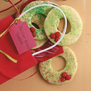Berliner Kranz Cookies