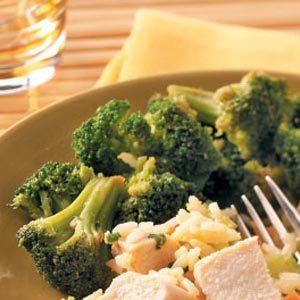 Broccoli in Hoisin Sauce