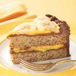 Chocolate Banana Cream Cake
