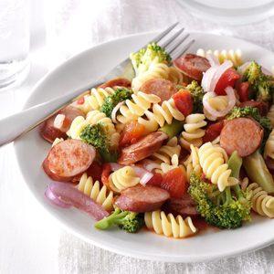 Sausage Broccoli Simmer