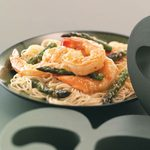 Glazed Shrimp & Asparagus For 2