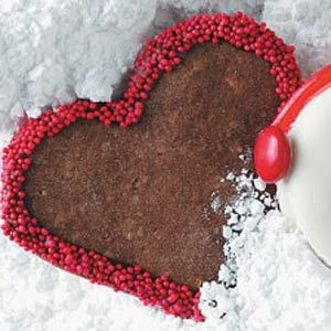 Festive Chocolate Hearts