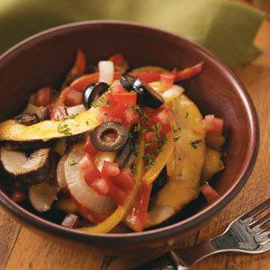 Portobello Mushroom Saute