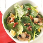 Super Spinach Salad for Two