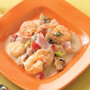 Shrimp and Fontina Casserole