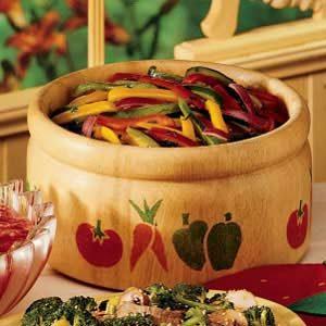 Calico Pepper Salad