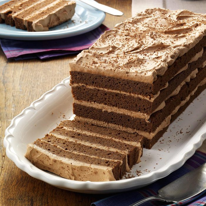 Chocolate Lover's Mousse Torte