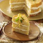 Italian Triple Lemon Cream Cake